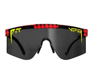 Pit Viper The Party in Plaid 2000 Briller - Sort
